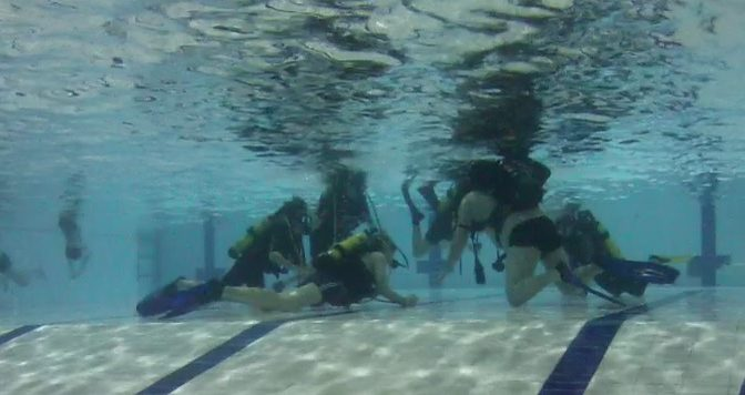 Junior scubadiver kurssi