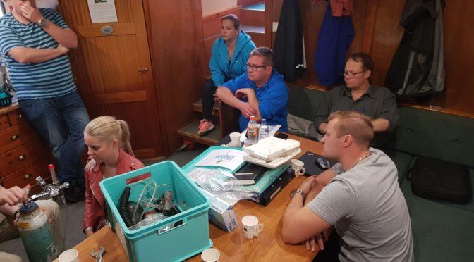Rescue Diver koulutusta