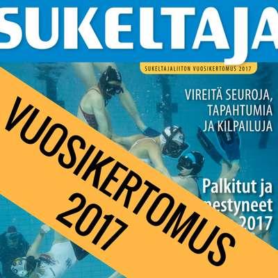 Sukeltajaliiton vuosikertomus 2017