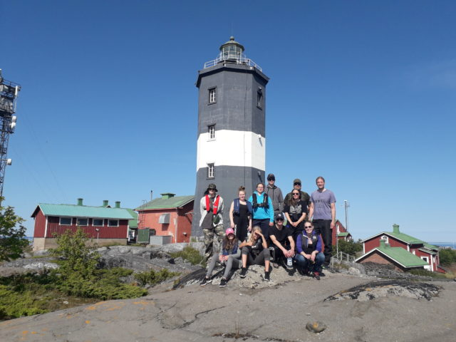 Turistina Norrskäretissä
