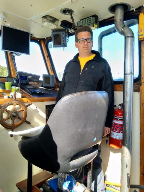 Juuso kertoo VHF:n toiminnasta ja käytöstä