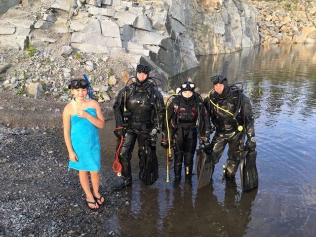 Koko Myllärin perhe harrastaa sukellusta. Vesa ja Paula ovat käyneet peruskurssin jo kauan sitten ja lapset seuraavat perässä. Sukelluksesta on tullut koko perheen yhteinen harrastus.