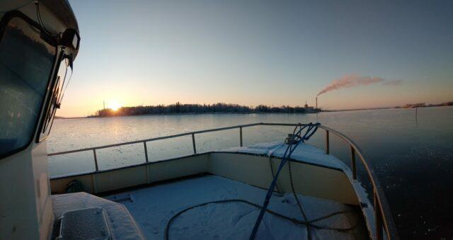 Talviunille menossa, kuva Lasse L