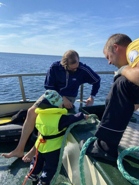 Merimiestaitoja harjoitellaan aina kun ollaan merellä